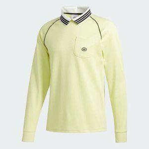 Adidas FM1429 Urgell Jersey Top Yellow Tint